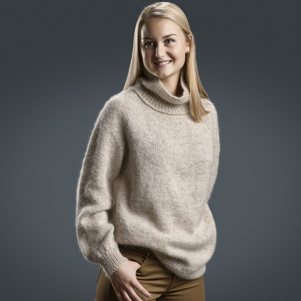 Luksus sweater, for 1800