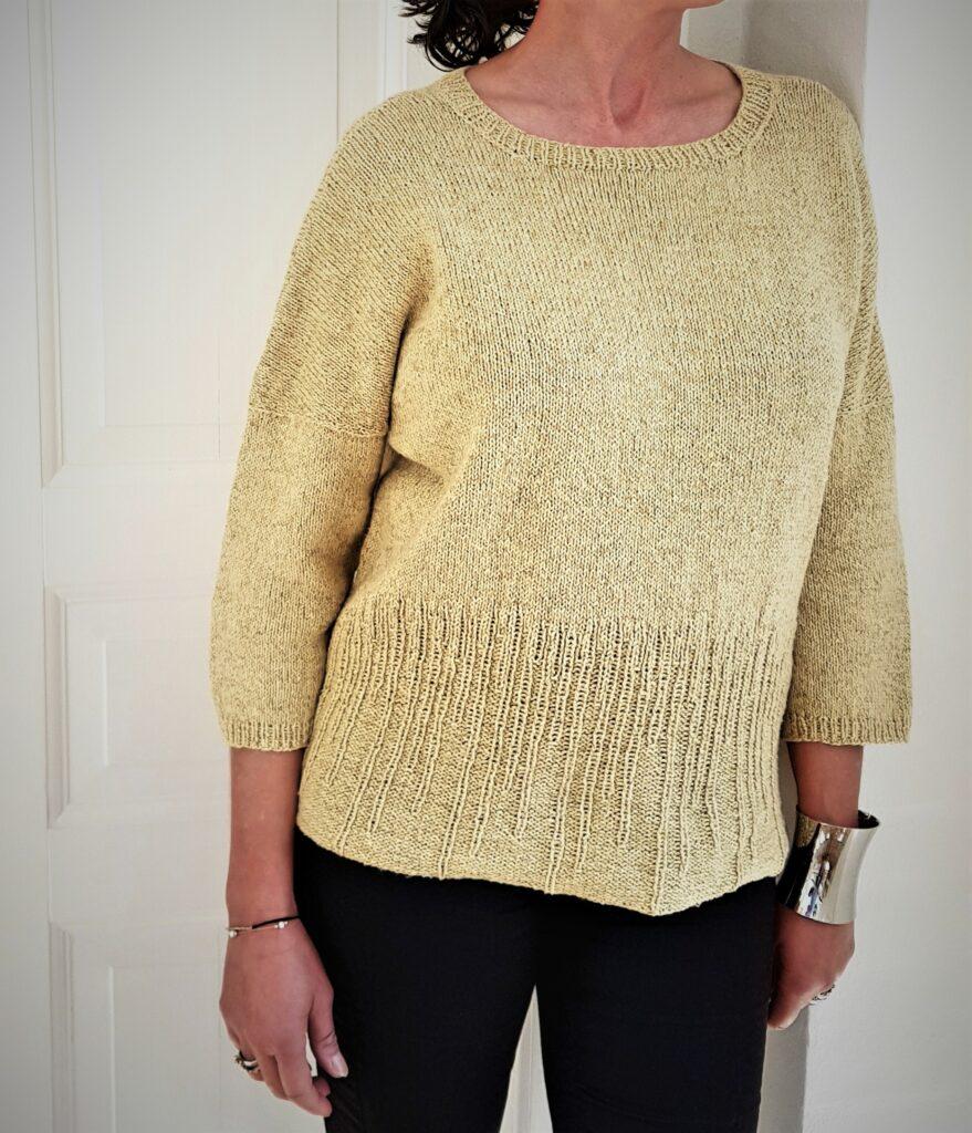 Linen sweater 1