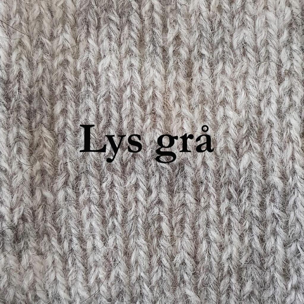 Lys-grå