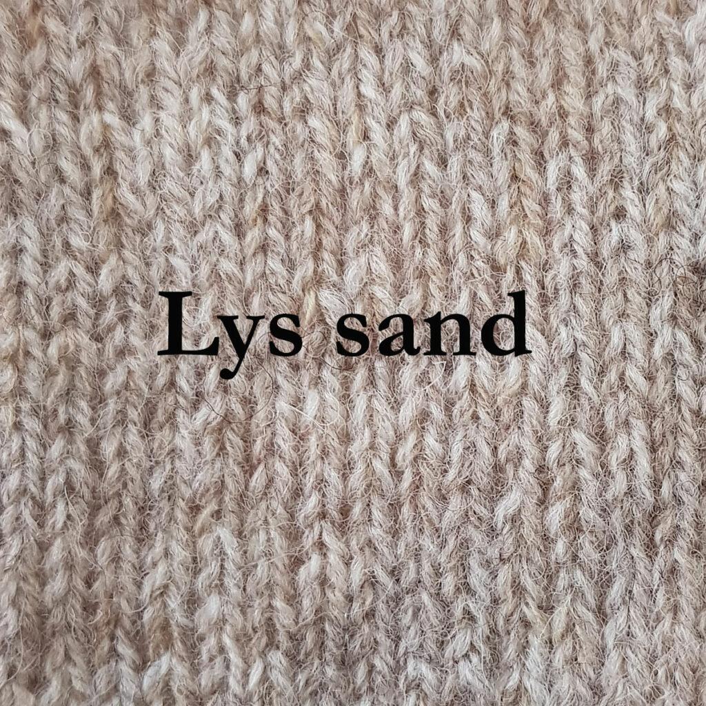 Lys-sand
